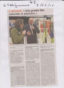 43-Le Télégramme 3 février 2015